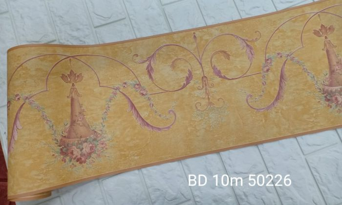 Wallpaper Dinding BORDER DWS 10m/roll <br><br><br> 15 bd_10m_50226